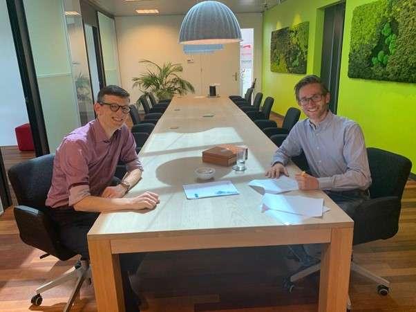 Lucas Otten tekent contract